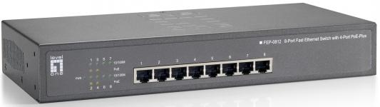 Коммутатор LevelOne FEP-0812 8 портов 10/100Mbps