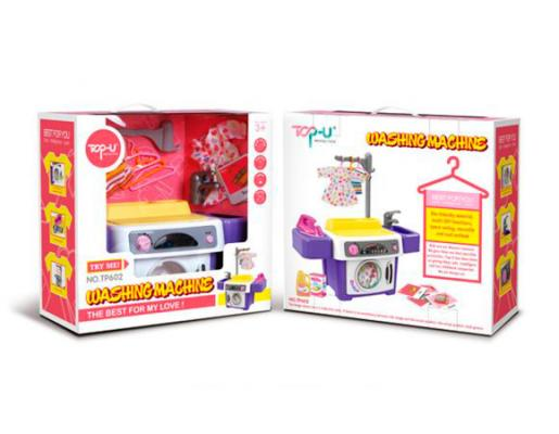 Стиральная машина Shantou Gepai TP602 со звуком shantou gepai каталка ходунки бегемотик со светом и звуком shantou gepai