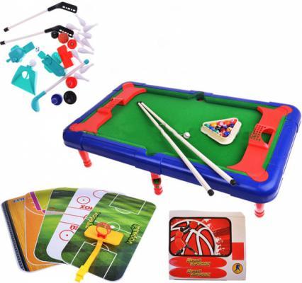 Настольная игра Shantou Gepai спортивная Меткий бросок 6 в 1 941316