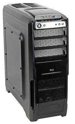 Корпус ATX Sun Pro Electronics Electronics Ray Без БП чёрный