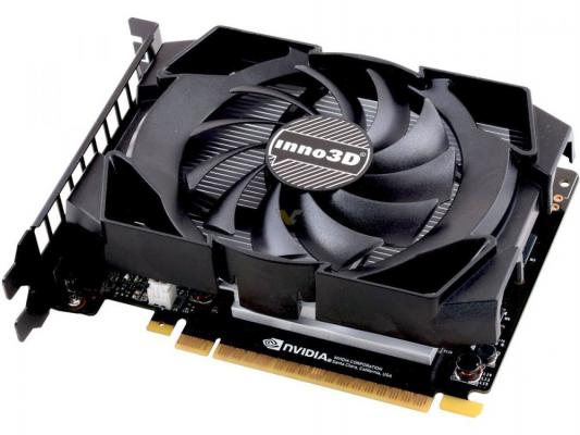 Видеокарта 2048Mb Inno3D GeForce GTX 1050 Compact PCI-E 128bit GDDR5 DVI HDMI DP HDCP N1050-1SDV-E5CM Retail