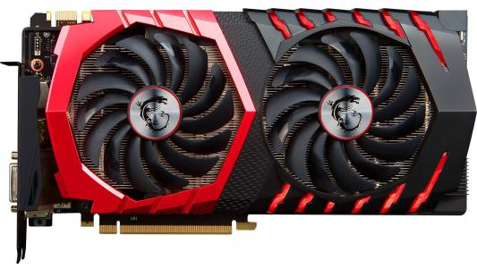 Видеокарта 8192Mb MSI GeForce GTX 1080 GAMING 8G PCI-E 256bit GDDR5X DVI HDMI DP HDCP Retail видеокарта msi rx 580 gaming x 4g rx 580 4гб gddr5 retail