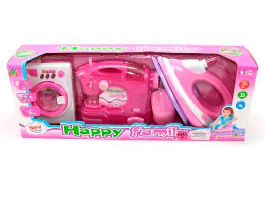 Набор бытовой техники Shantou Gepai Happy Family со звуком 6927711552984