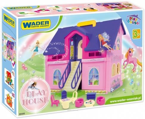Дом для кукол Wader Play House wader конструктор аэропорт play city