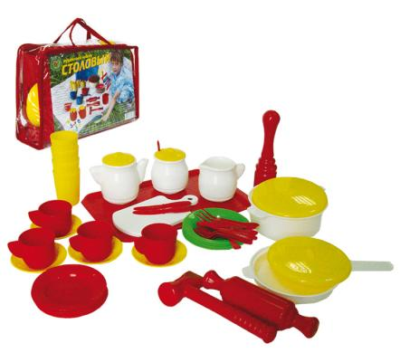 Набор посуды Совтехстром Столовый У526 ролевые игры росигрушка набор посуды столовый рыбный день 9 деталей