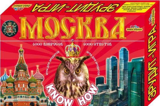 Настольная игра ИгриКо логическая Викторина Эрудит Москва