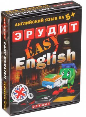 Настольная игра развивающая Биплант Эрудит Easy English подарочный 10007 гиря no name zs 20 20кг