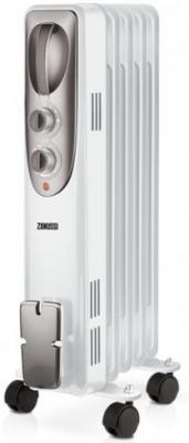Масляный радиатор Zanussi Espressione ZOH/ES-05W 1000 Вт термостат ручка для переноски белый