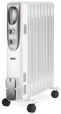 Масляный радиатор Zanussi Espressione ZOH/ES-09W 2000 Вт термостат ручка для переноски белый
