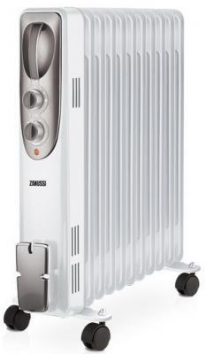 Масляный радиатор Zanussi Espressione ZOH/ES-11W 2200 Вт термостат ручка для переноски белый