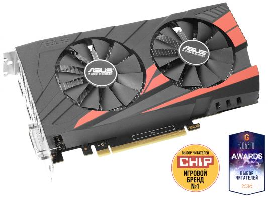Видеокарта 4096Mb ASUS GeForce GTX1050 Ti PCI-E 128bit GDDR5 DVI HDMI DP HDCP EX-GTX1050TI-O4G Retail maxsun ms gtx750 geforce gtx 750 2g gddr5 graphics card with hdmi vga dvi interface