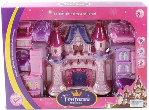 Замок для кукол Shantou Gepai с набором мебели