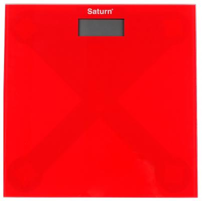 Весы напольные Saturn ST-PS0294 красный