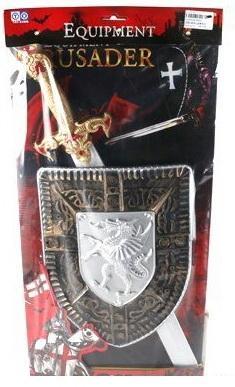 Игровой набор Shantou Gepai Оружие рыцаря 3 предмета