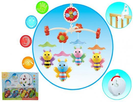 Интерактивная игрушка Shantou Gepai Пчелки от 3 месяцев звук, 6610A интерактивная игрушка shantou gepai динозавр от 3 лет бежевый rs6125