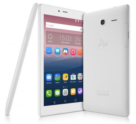 "Планшет Alcatel Pixi 4 7.0 7"" 8Gb белый Wi-Fi Bluetooth Android 8063-3BALRU1  планшетный пк alcatel pixi 4 7 0 8063 3calru1"
