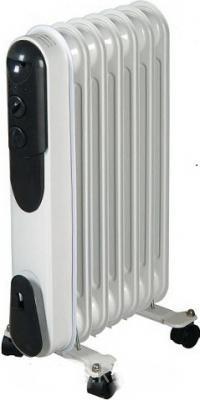 Масляный радиатор Saturn ST-OH0425 1500 Вт термостат ручка для переноски белый
