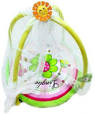 Купить Развивающий коврик Shantou Gepai Солнечный с накидкой Y8300146, Развивающие коврики и дуги