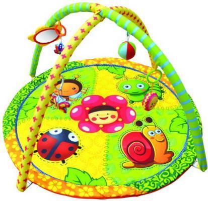 Коврик Жирафики развивающий «Летняя полянка», 5 развивающих игрушек, с зеркальцем 939314