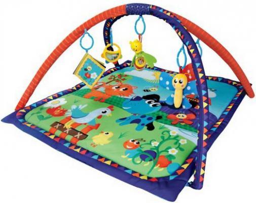 Коврик Жирафики развивающий «Домашние животные», 5 развивающих игрушек, с книжкой-шуршалкой 939313