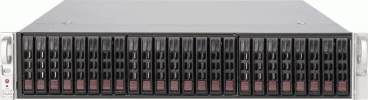 где купить Серверный корпус 2U Supermicro CSE-216BAC-R920LPB 920 Вт чёрный дешево