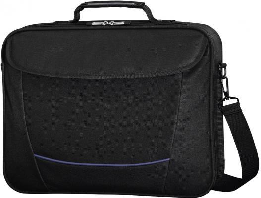 """Сумка для ноутбука 17.3"""" HAMA Seattle Life H-101293 полиэстер черный 101293/101769 сумка hama h 83963 universal в багажник нейлон черный"""