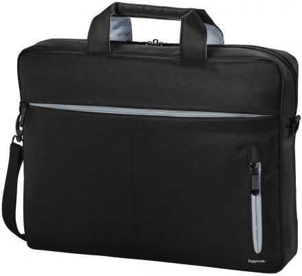 Сумка для ноутбука 15.6 HAMA Marseille Style полиэстер черный серый 00101281