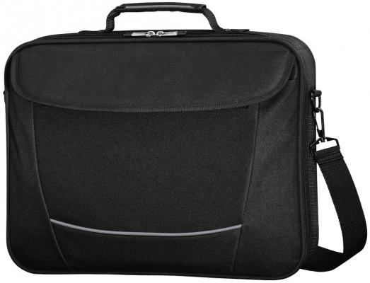 Сумка для ноутбука 15.6 HAMA Seattle Life полиэстер черный серый 00101292 сумка для ноутбука 17 3 hama seattle life h 101293 полиэстер черный