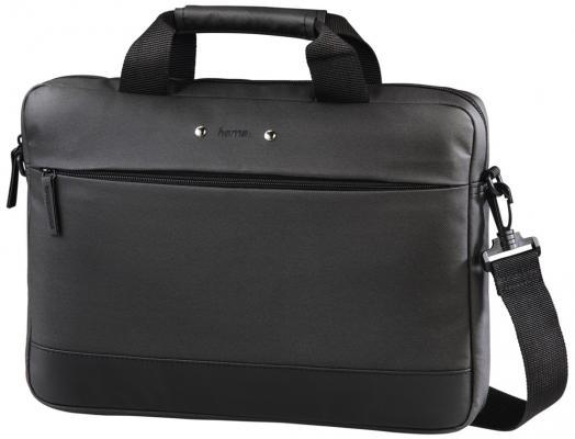 """Сумка для ноутбука 15.6"""" HAMA Ultra Style полиуретан черный 00101528"""