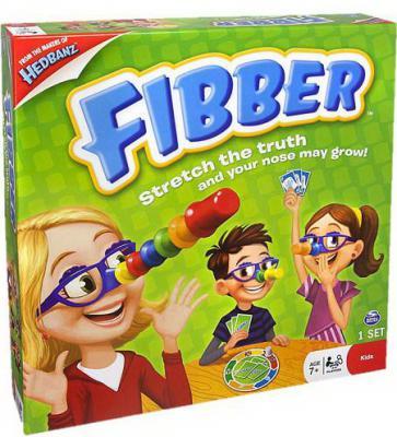 Настольная игра Spin Master развивающая FIBBER 778988058398