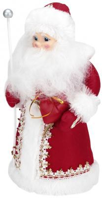Дед Мороз Волшебный мир Русский, под ёлку красный 43 см 1 шт пластик, текстиль