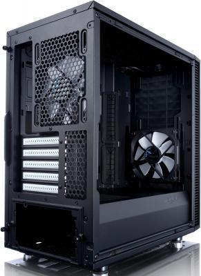 Корпус microATX Fractal Design Define Mini C Без БП чёрный FD-CA-DEF-MINI-C-BK