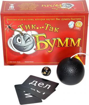 Настольная игра Piatnik для вечеринки Тик Так Бумм (издание 2016г) 9001890798092