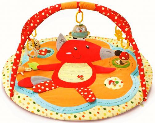 Купить Развивающий игровой коврик ROXY Лисичка и ее друзья с дугами RPM-3311С, Roxy Kids, Развивающие коврики и дуги