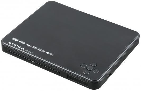 Проигрыватель DVD Supra DVS-206X черный проигрыватель dvd supra dvs 201x black