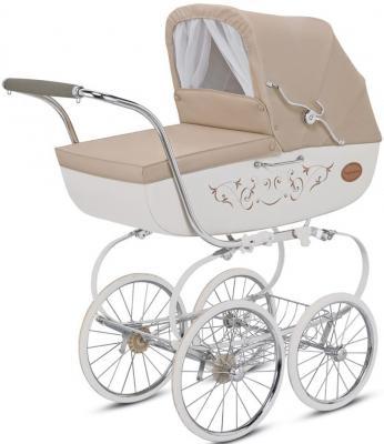 Коляска для новорожденного Inglesina Classica на шасси Balestrino Chrome/Ivory (AB05E0VNL + AE05H3100) коляска для новорожденного inglesina classica на шасси balestrino chrome ivory ab05e0vnl ae05h3100