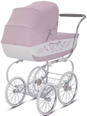 Коляска для новорожденного Inglesina Classica на шасси Balestrino Chrome/Ivory (AB05E0PES + AE05H3100)