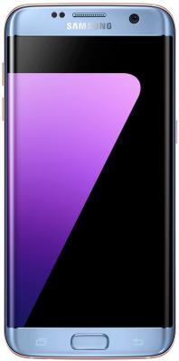 Смартфон Samsung Galaxy S7 Edge синий 5.5 32 Гб NFC LTE Wi-Fi GPS 3G samsung sm g925f galaxy s6 edge 32 gb emerald