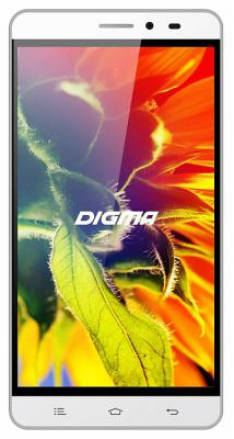 Смартфон Digma Vox S505 3G белый 5 8 Гб Wi-Fi GPS 3G 388936 смартфон digma vox s501 3g красный 5 8 гб wi fi gps 3g vs5002pg navitel