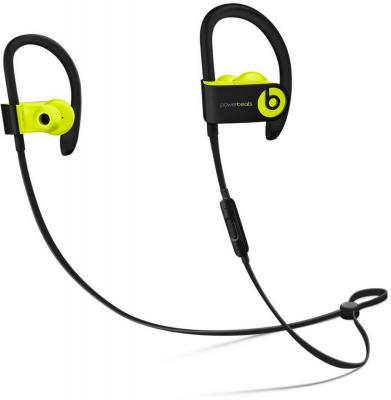 Наушники Apple Beats Powerbeats 3 WL желтый MNN02ZE/A гарнитура beats powerbeats 3 wl red mnly2ze a