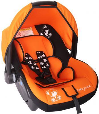 Автокресло Baby Care BC-321 Люкс Мишка (оранжевый)