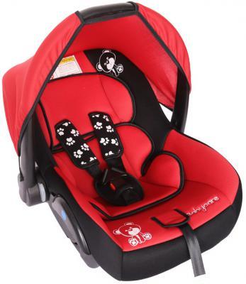 Автокресло Baby Care BC-321 Люкс Мишка (красный)