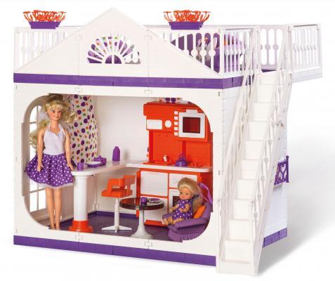 Дом для кукол Огонек Конфетти С-1361 игрушечная столовая для кукол огонек конфетти