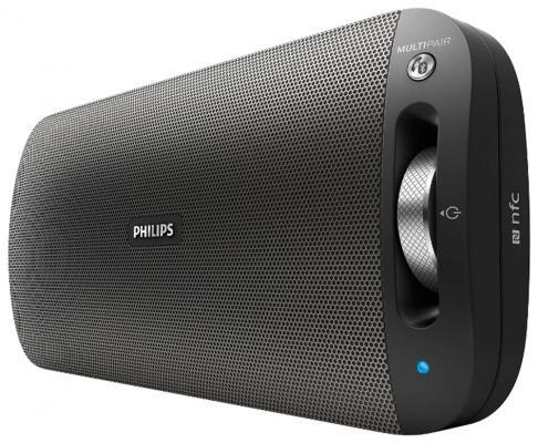 Портативная акустикаPhilips BT3600B/00 черный мультиварка philips hd3134 00 белый черный