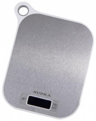 Весы кухонные Supra BSS-4077 белый цена и фото