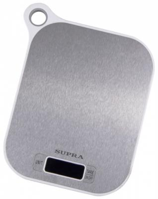 Весы кухонные Supra BSS-4077 белый