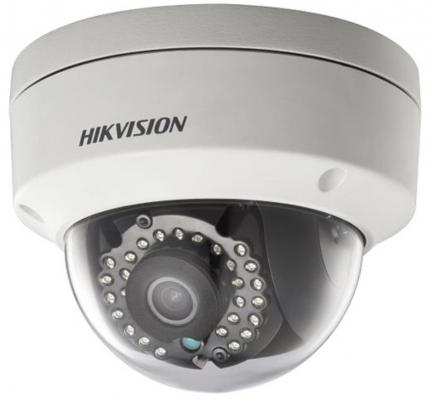 Камера IP Hikvision DS-2CD2142FWD-IS CMOS 1/3'' 6 мм 2688 x 1520 H.264 MJPEG H.264+ RJ-45 LAN PoE черный белый