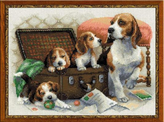 """Набор для вышивания Riolis """"Сотвори Сама"""" - Собачье семейство 1328"""