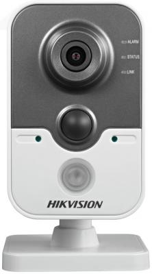 Камера IP Hikvision DS-2CD2422FWD-IW CMOS 1/2.8 1920 x 1080 H.264 2.8мм MJPEG RJ-45 LAN Wi-Fi PoE белый черный in stock dhl free shipping ds 2cd2432f iw english version 3mp ir mini cube cctv security poe camera wireless ip camera