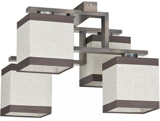Потолочная люстра TK Lighting 409 Lea Gray 4 tk lighting потолочная люстра tk lighting 1744 modern 4
